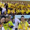 CSM București, campioană la handbal feminin, HCM Minaur Baia Mare ia titlul la masculin