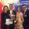 Stan Tiberiu-Florin – Grigore Daria medalie de bronz la Capionatul European!