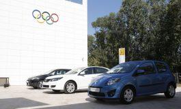 Medaliaţii olimpici de la Londra vor pleca acasă cu maşini Renault
