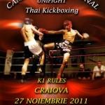 Finala Campionatului Naţional de Unifight Thai-Kickboxing s-a jucat la Craiova