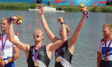 Aur la două rame fără cârmaci pentru Noua Zeelandă