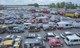Raliul Dakar aproape de start: cele 680 de vehicule au ajuns în portul Zarate