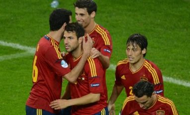 Spania, prima finalistă la EURO 2012
