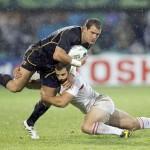 CM Rugby: Scoţia - Georgia 15-6 (în grupa României)