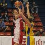 Echipa naţională feminină de baschet la barajul pentru Campionatul European