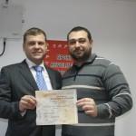 SAMBO a primit Certificatul de Identitate Sportivă
