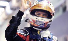 Vettel, al 38-lea pole-position din carieră