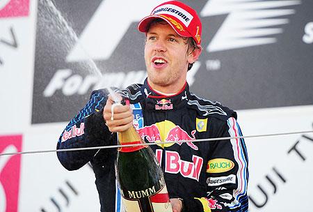 Victoria cu numărul 23 pentru Vettel