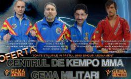 Lupii Albaştri au inaugurat un nou centru de Kempo MMA