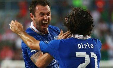 Italia, ultima semifinalistă la Euro 2012