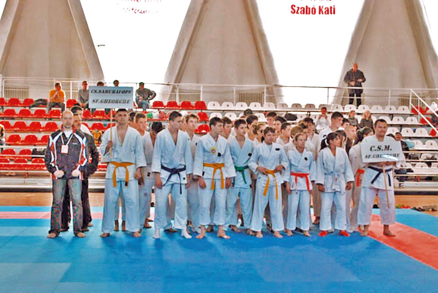 CSM Sfântu Gheorghe, locul III pe echipe la Naţionalele de Ju Jitsu!