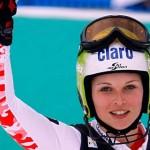 Austriaca Fenninger câștigă slalomul uriaș de acasă