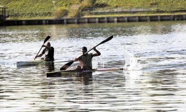 Lotul mexican de kaiac-canoe cantonat la Snagov