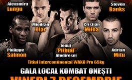 Fight-cardul galei Local Kombat Onești