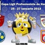 Cupa Ligii Profesioniste de Handbal se dispută la Chiajna