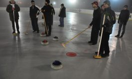 Echipa noastră de curling în Slovacia