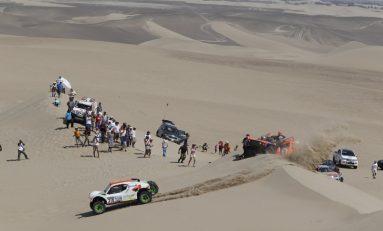 Lopez şi Sainz, lideri intermediari la Raliul Dakar