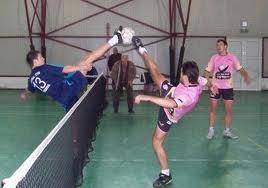 Competiţie de fotbal-tenis pe 12 ianuarie