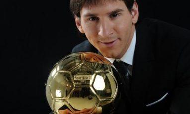 Al patrulea Balon de Aur consecutiv pentru Lionel Messi