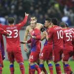 Steaua aproape campioană cu cinci etape înainte de finiş
