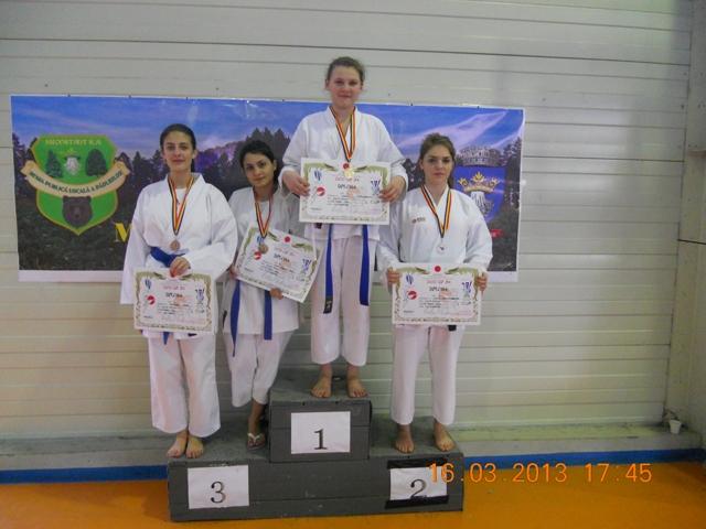 Şapte medalii teleormănene la Shoto Cup JKA