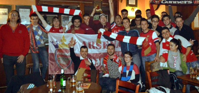 arsenal fan club romania