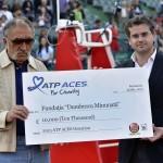 A doua donație ATP Aces For Charity pentru turneul BRD Năstase Ţiriac Trophy