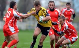 CSM Bucureşti - Dinamo 18-10 într-un meci de rugby spectaculos