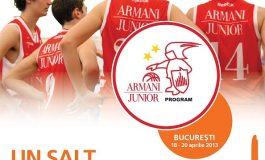 Olimpia Armani Junior Camp, proiect dedicat tinerilor pasionaţi de baschet