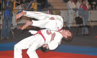 Regal de Ju-Jitsu la Sala Polivalentă din Bucureşti