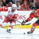 Detroit Red Wings se distanțează în seria cu Chicago Blackhawks