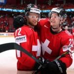 Elveția și Suedia vor juca finala Campionatului Mondial de hochei pe gheață