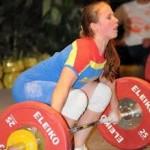 Trei medalii pentru Bianca Molie la Campionatele Mondiale de haltere pentru juniori