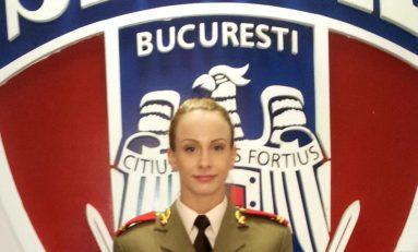 Sandra Izbașa a fost înaintată la gradul de locotent al Armatei Române!
