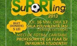 SuPORTing 2013 – meci de fotbal caritabil