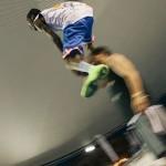 Justin Darlington a câștigat concursul de slam dunk-uri la Wizz Air Sport Arena Streetball