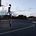 Dunkerul de 1,69 metri care a uimit lumea vine la Sport Arena Streetball