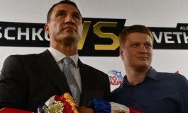 Vladimir Kliciko și Alexander Povetkin se bat în octombrie la Moscova