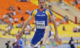 Marian Oprea a ratat podiumul la triplusalt în cadrul CM de atletism în sală