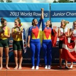 Trei medalii româneşti în ultima zi a CM de canotaj pentru juniori