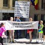 """Copiii din Bucureşti vor deschiderea patinoarului """"Mihai Flamaropol"""""""