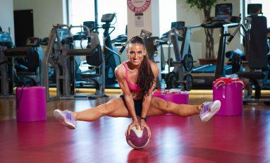 Regina fitness-ului mondial