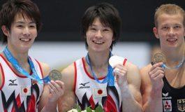 Kohei Uchimura, campion mondial la individual-compus