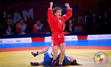 Sambo a adus României prima medalie la Jocurile Sport Accord de la Sankt Petersburg