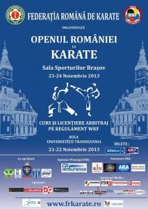 open romania karate