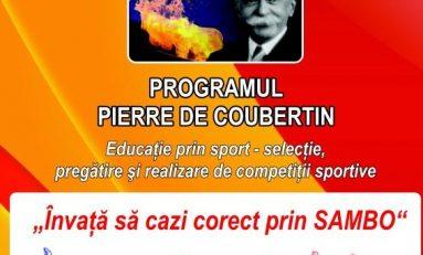 """Sambo a fost integrat în proiectul naţional """"Pierre de Coubertin"""""""