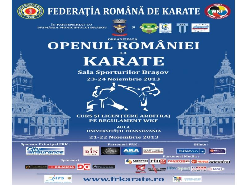 Open-ul României la Karate