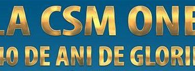 CSM Oneşti, la aniversarea cu numărul 40