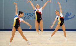 Juniorii români au obținut două medalii de aur la CE de gimnastică aerobică