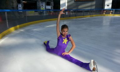 Ana Sofia Beșchea, o speranță a patinajului românesc